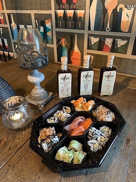 Sushi huisgemaakt! - Brasserie Flair Gasselte